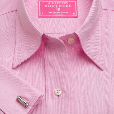 Made 2 Measure - PINK ROYAL HERRINGBONE