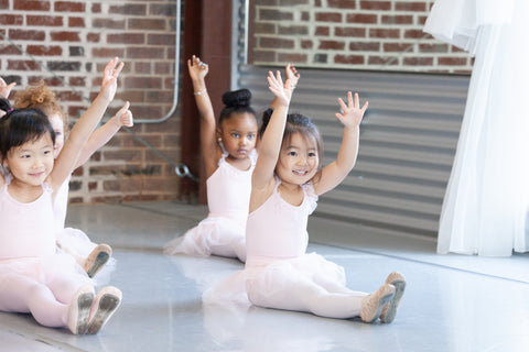 Preschool Pre-Ballet Class Online Learning Packet