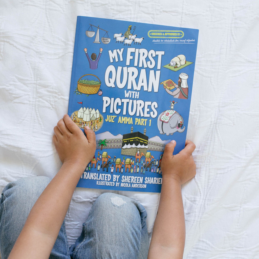 """My first Quran With Pictures"" Book Review"