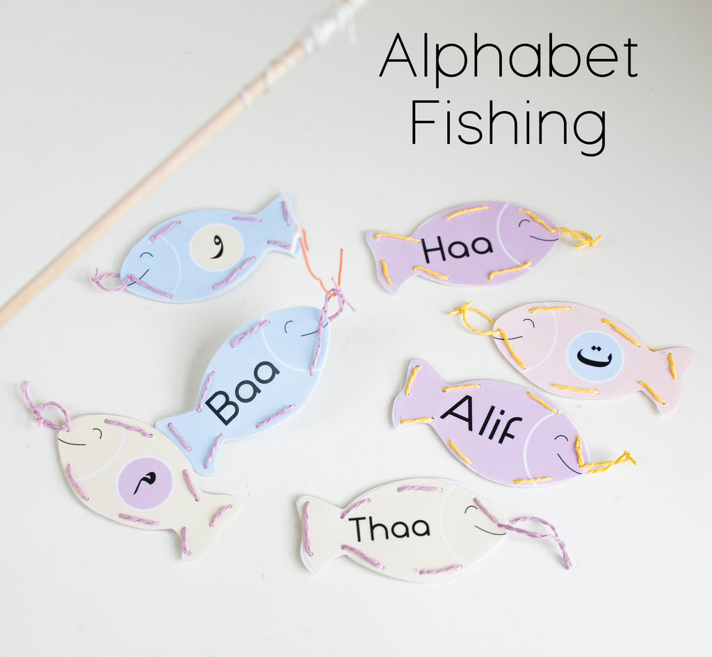 Alphabet Fishing