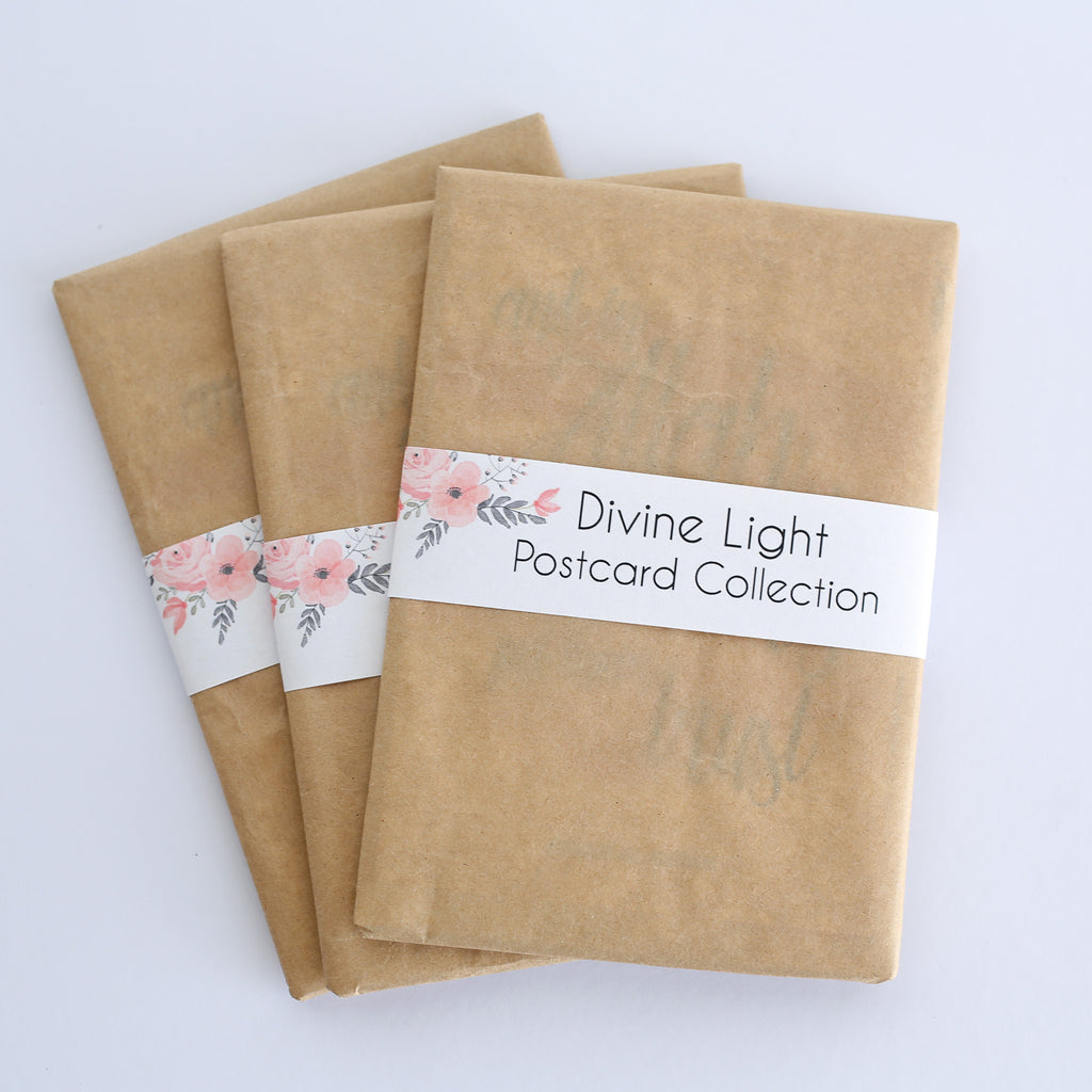 Zed&Q Islamic Product Divine Light Postcard Collection Postcards