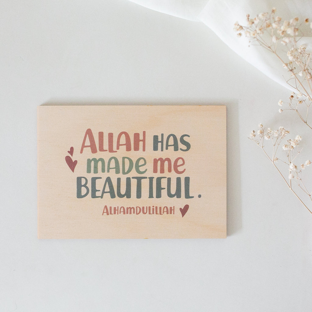 Nursery Islamic Affirmation (Girls)