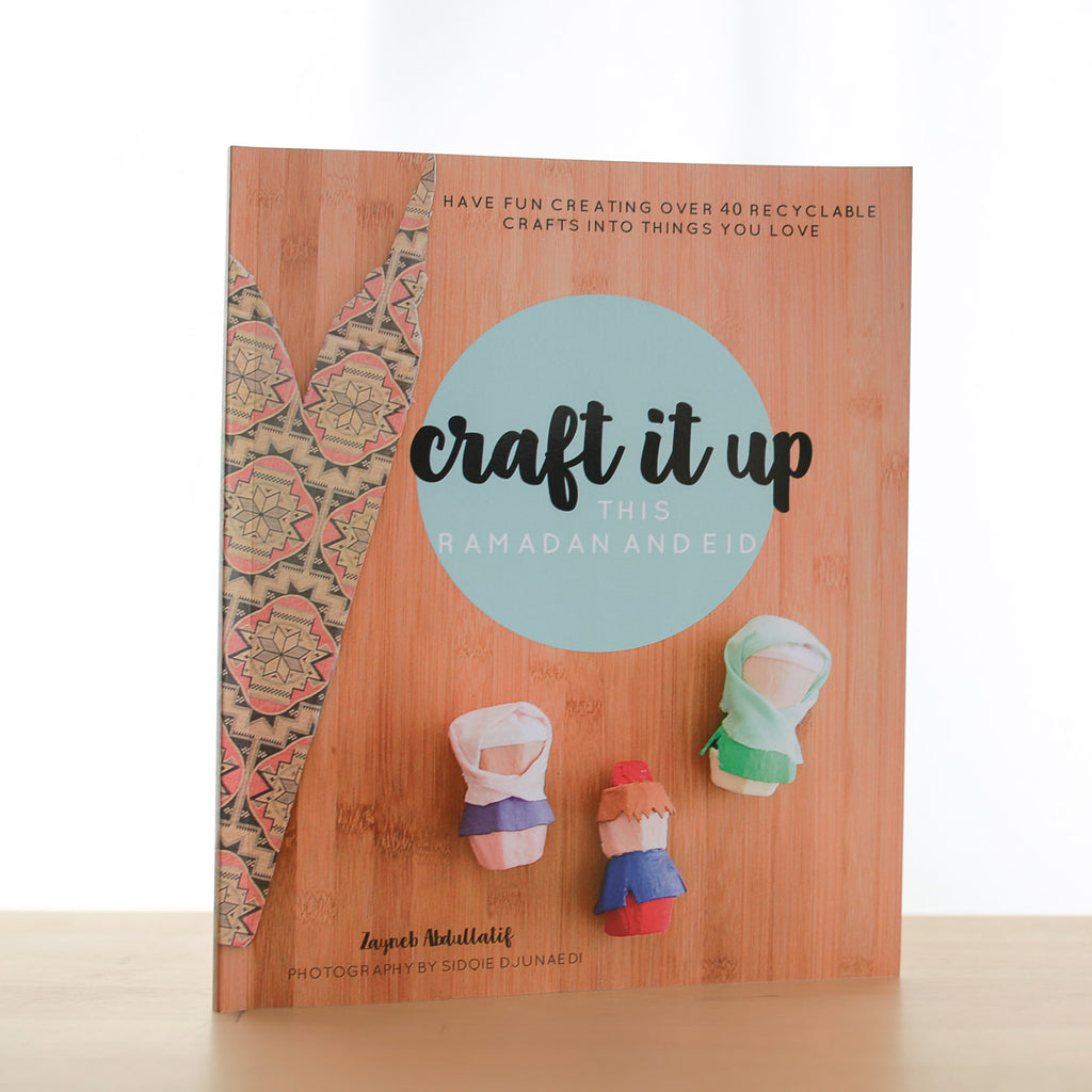 Islamic Muslim Eid Gift Decor  Craft Book - Craft it up this Ramadan and Eid Book - Zed&Q