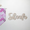 Islamic Muslim Eid Gift Decor  Name Text Panels Text Panels - Zed&Q