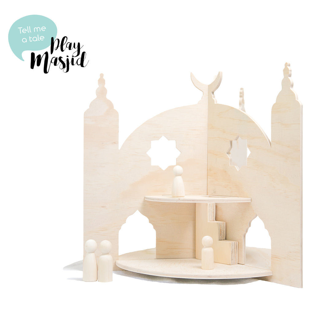 Islamic Muslim Eid Gift Decor  Play Masjid Toys - Zed&Q
