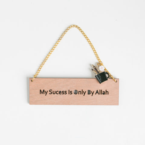 Success Mini Plaque