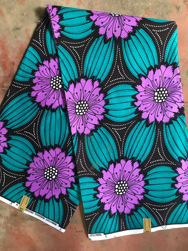Purple Lilly Fabric