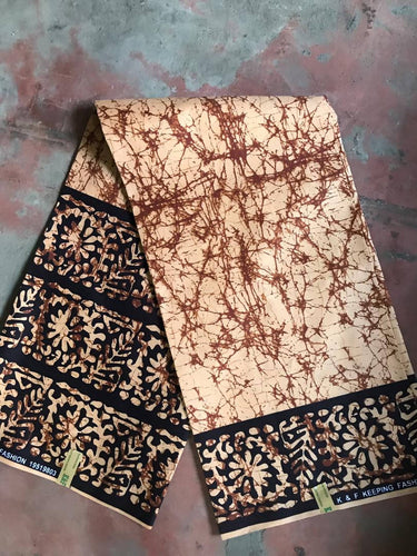 Earthly Brown Fabric