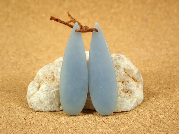 Angelite Teardrop Earring Pair