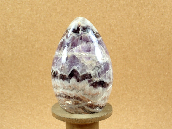 Chevron Dream Amethyst Freeform Mineral Specimen