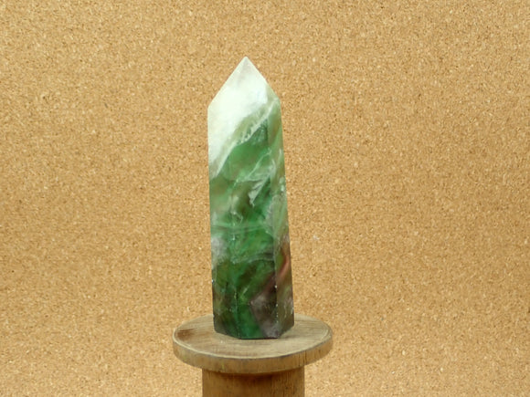 Fluorite Tower Point Mineral Specimen