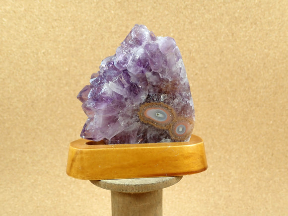 Amethyst Stalactite Geode Freeform with Stand