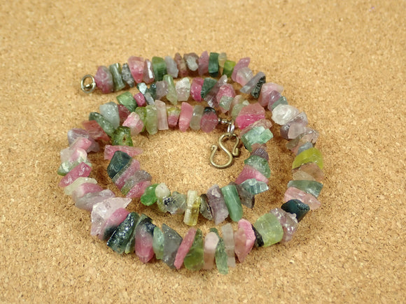 Tourmaline Chip Beads with Clasp