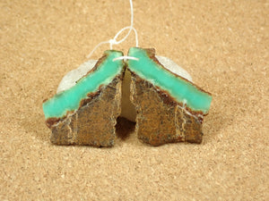 Chrysoprase Earring Pair