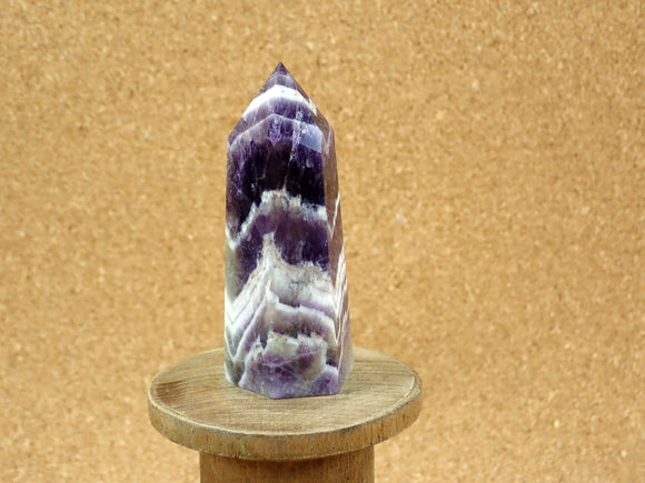 Chevron Dream Amethyst Point Mineral Specimen