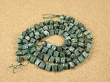 Seraphinite Geometric Tube Beads