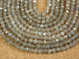 Labradorite Faceted Round Beads
