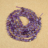 Amethyst Coin Beads