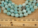 Amazonite Octagon Beads