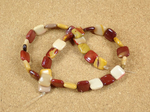 Mookaite Square Beads