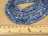 Kyanite Coin Beads
