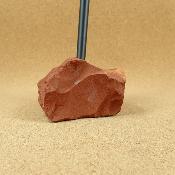 Red Jasper Rough Raw Stone Pen Holder