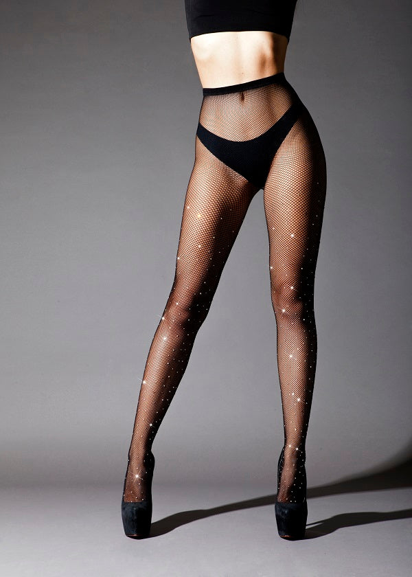 Tights Diamond Black