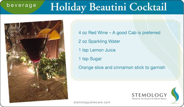 The Holiday Beautini Cocktail