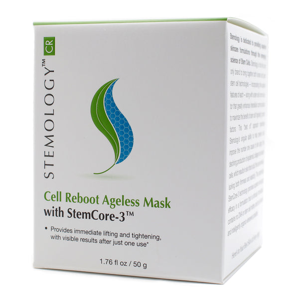 Stemology Cell Reboot Ageless Mask - Front of Box