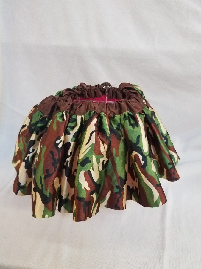Army Color Design Skirt