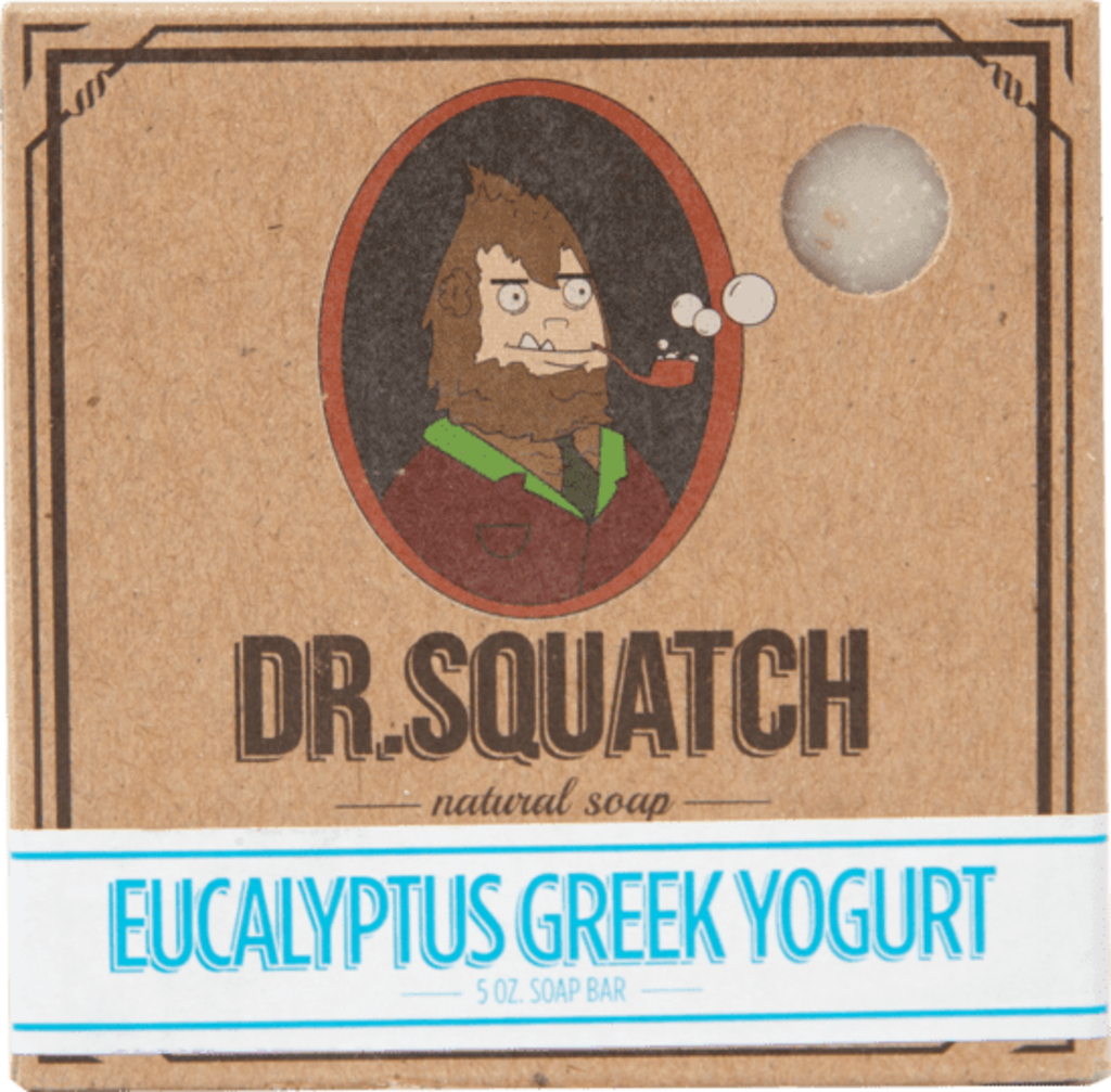 Eucalyptus Greek Yogurt Bar Soap / By Dr. Squatch