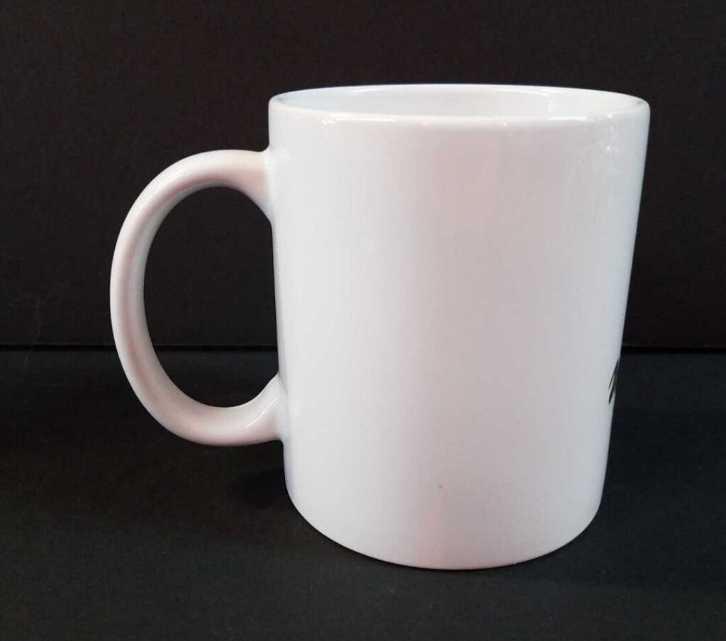 15 oz. White Sublimatable Ceramic Mug with White Box