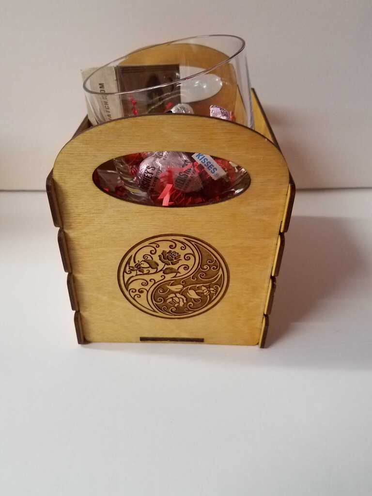 "Yin & Yang Box ""Whiskey"""
