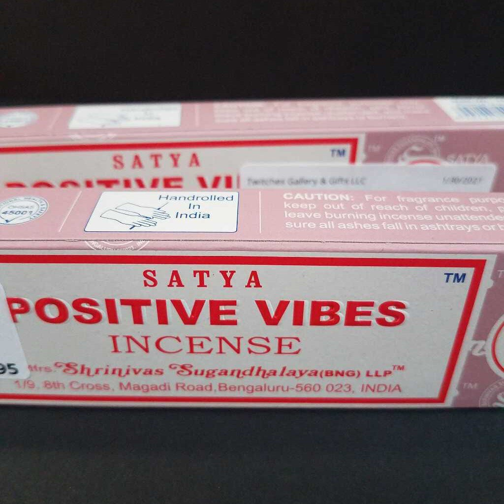 Positive Vibes Incense Box