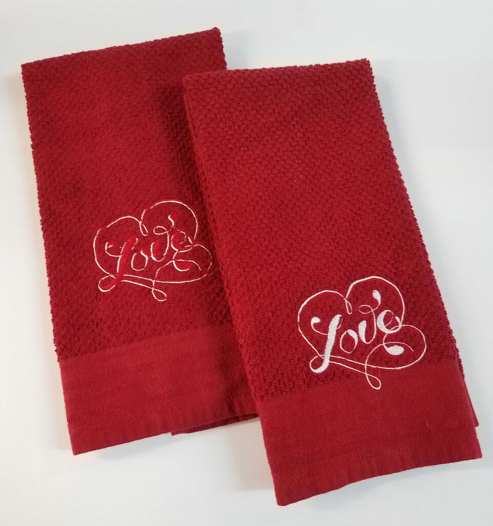 Love Hand Towels