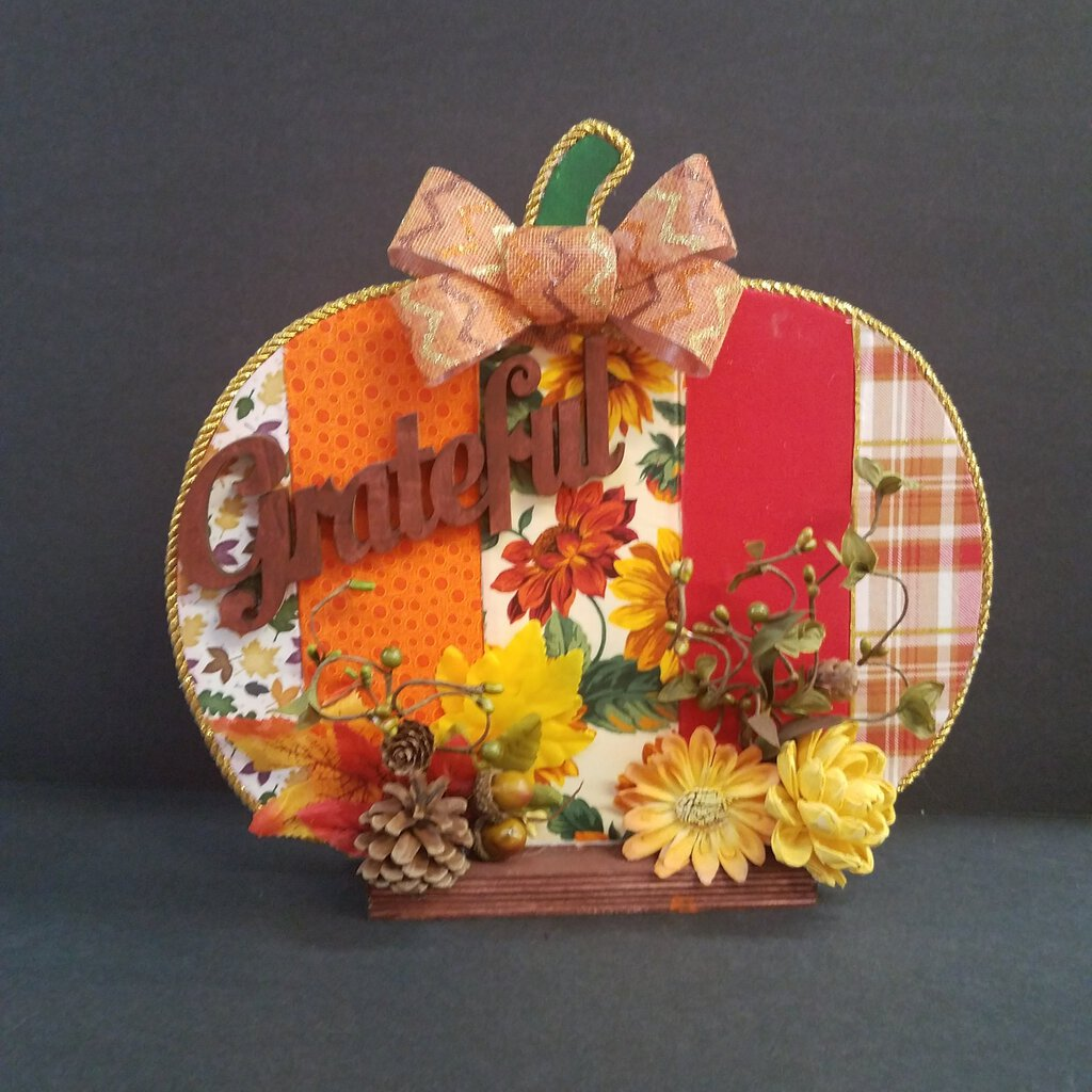 Pumpkin Center Piece Decor