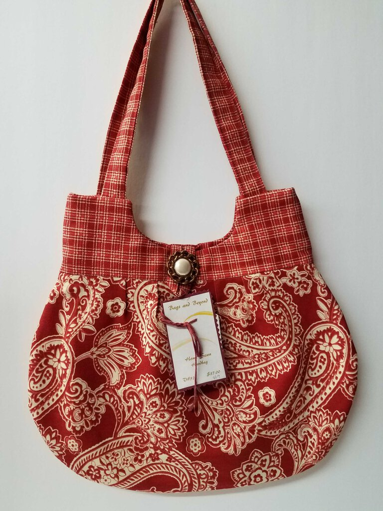 Paisley & Paid Rounded Shoulder Bag