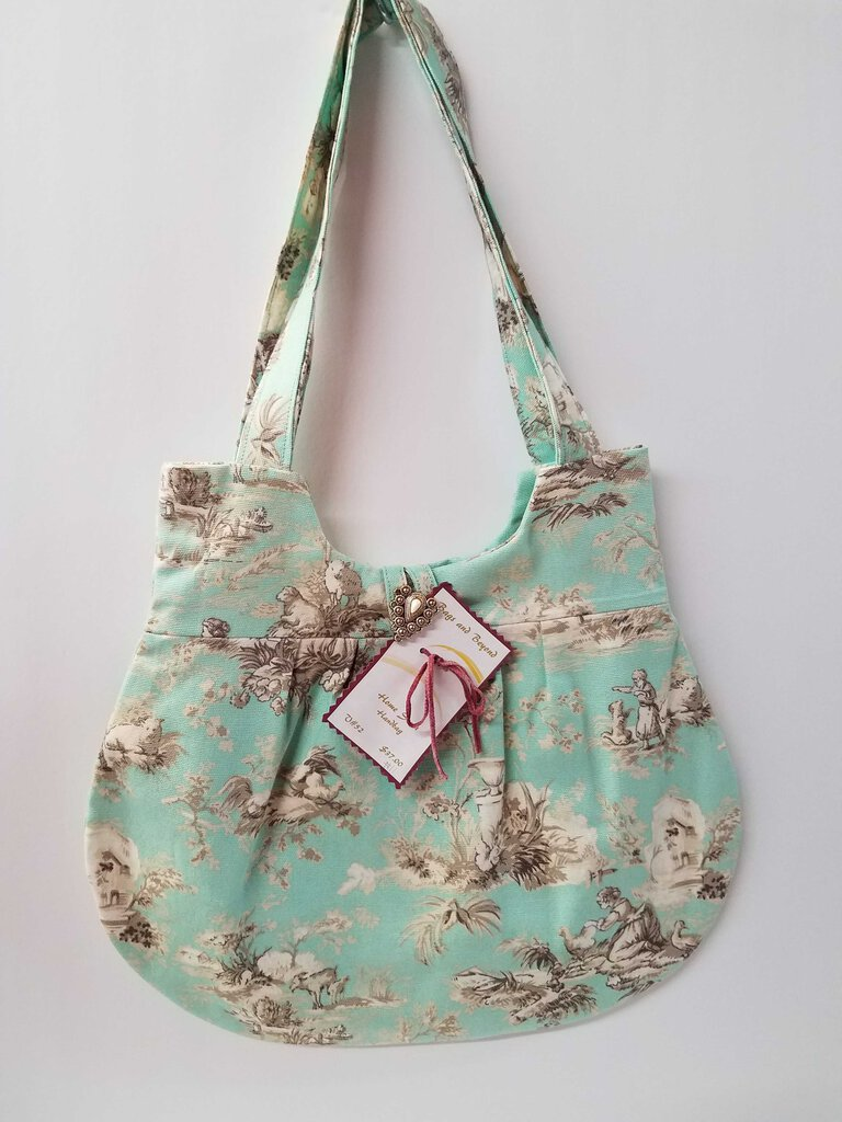 Ladies on the farm Rounded Shoulder Bag
