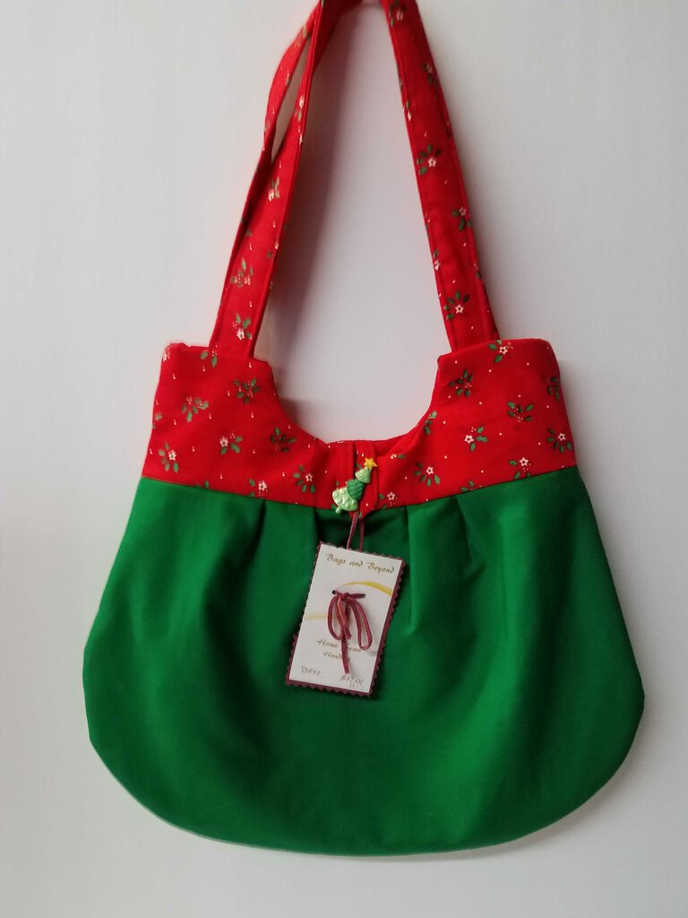 Holly Over Green Rounded Shoulder Bag