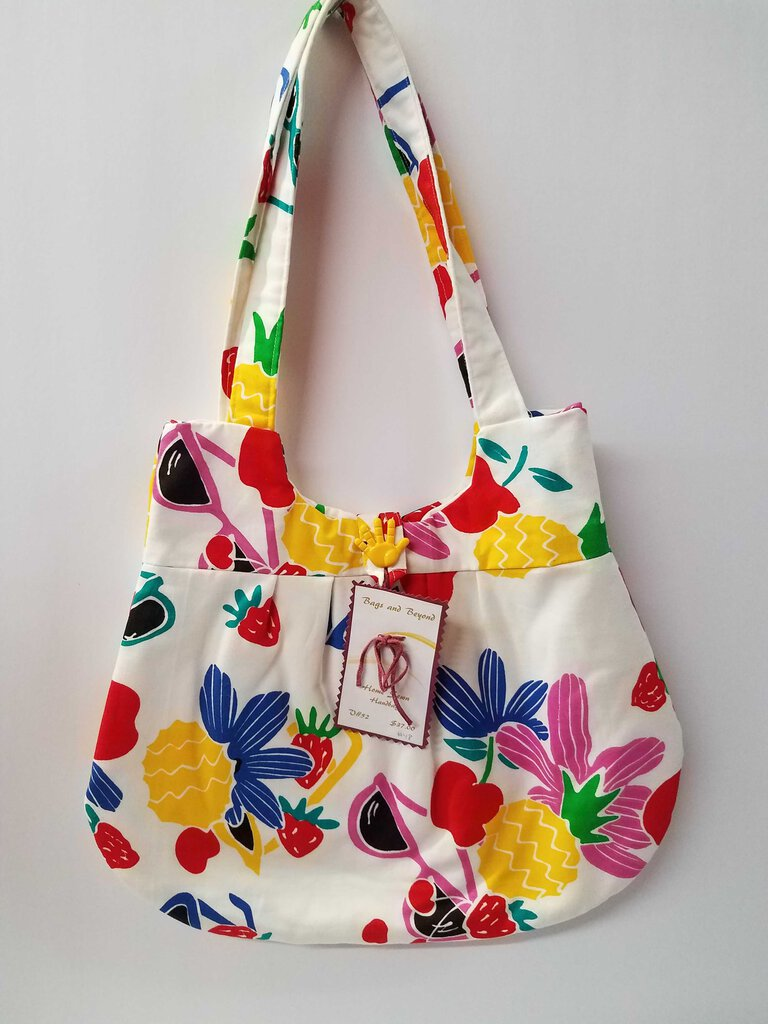 Summer Fruit Rounded Shoulder Bag