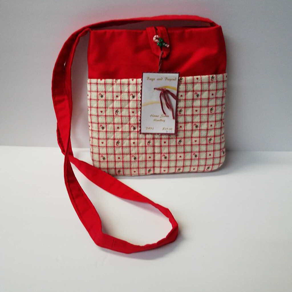 Candy Canes & Hearts Purse