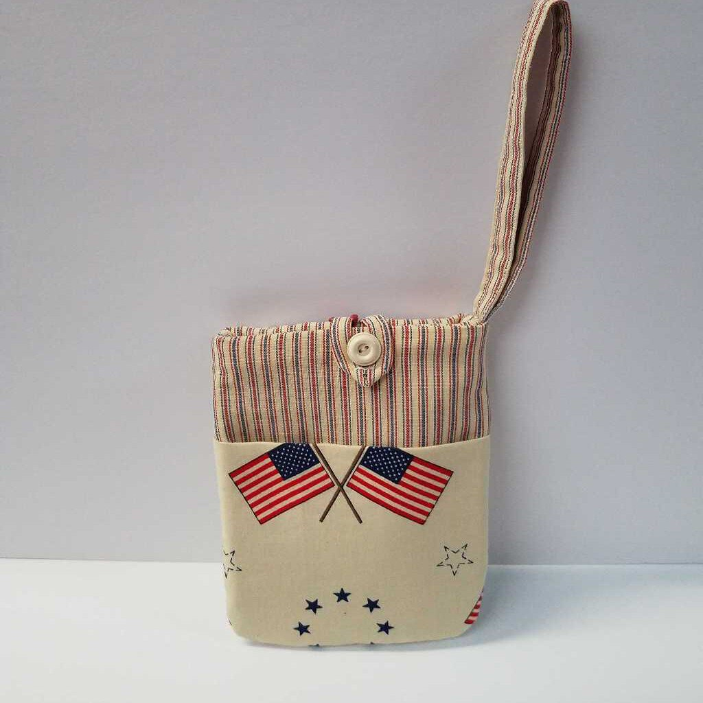Wrist Wrap Patriotic Bag