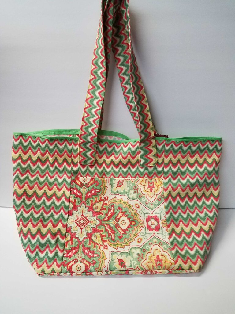 Mixed Colors Tote Bag