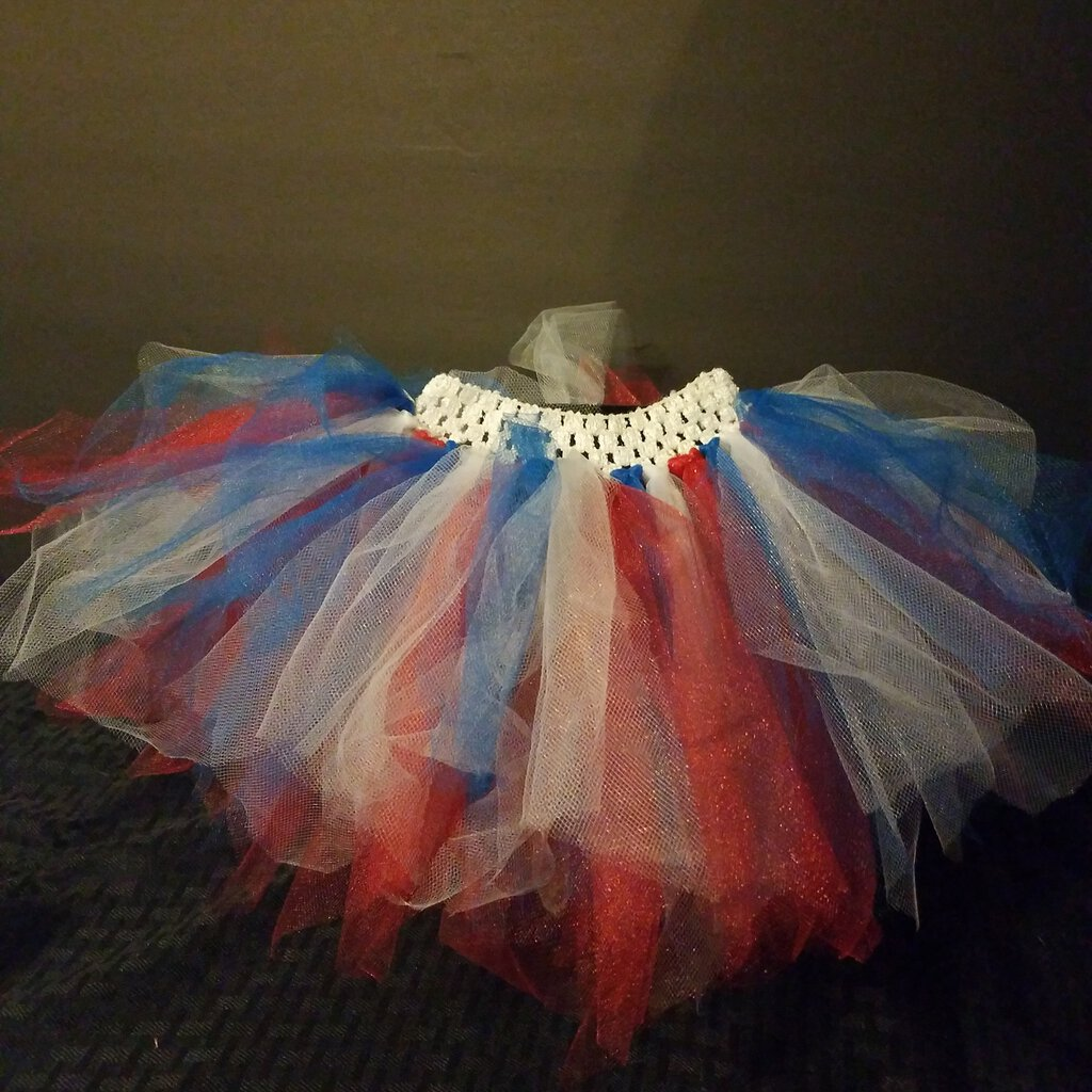 4th of July Tutu Set Size 3/6 Months