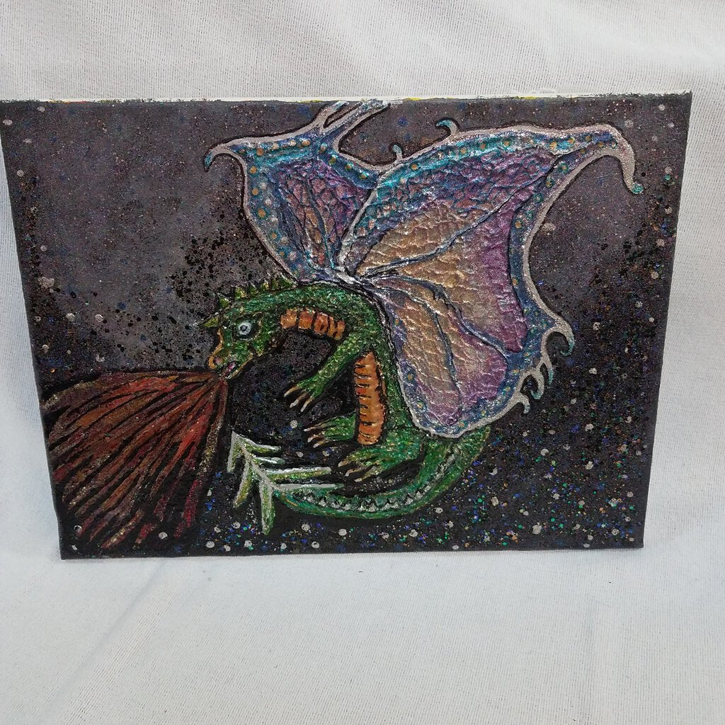 3D Dragon Painting