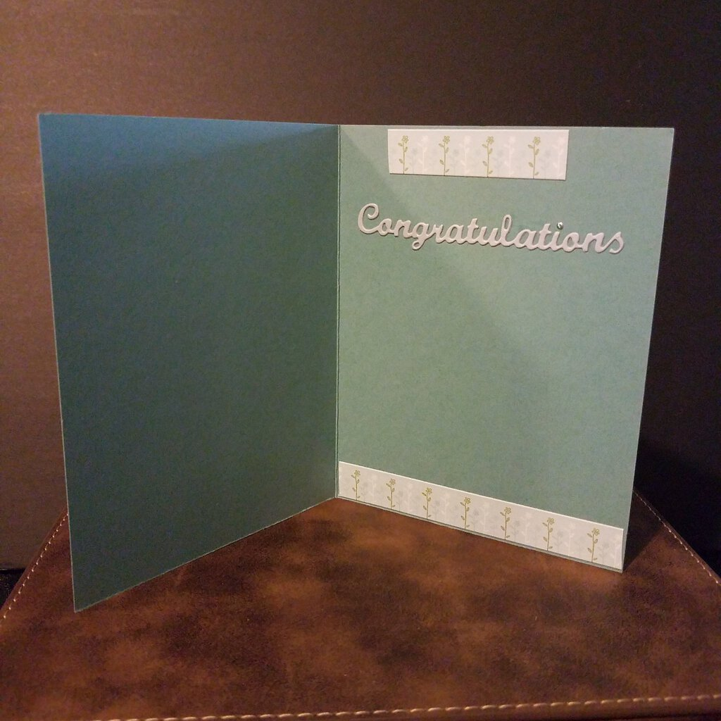 Hooray ! Congratulations inside Card with Envelope