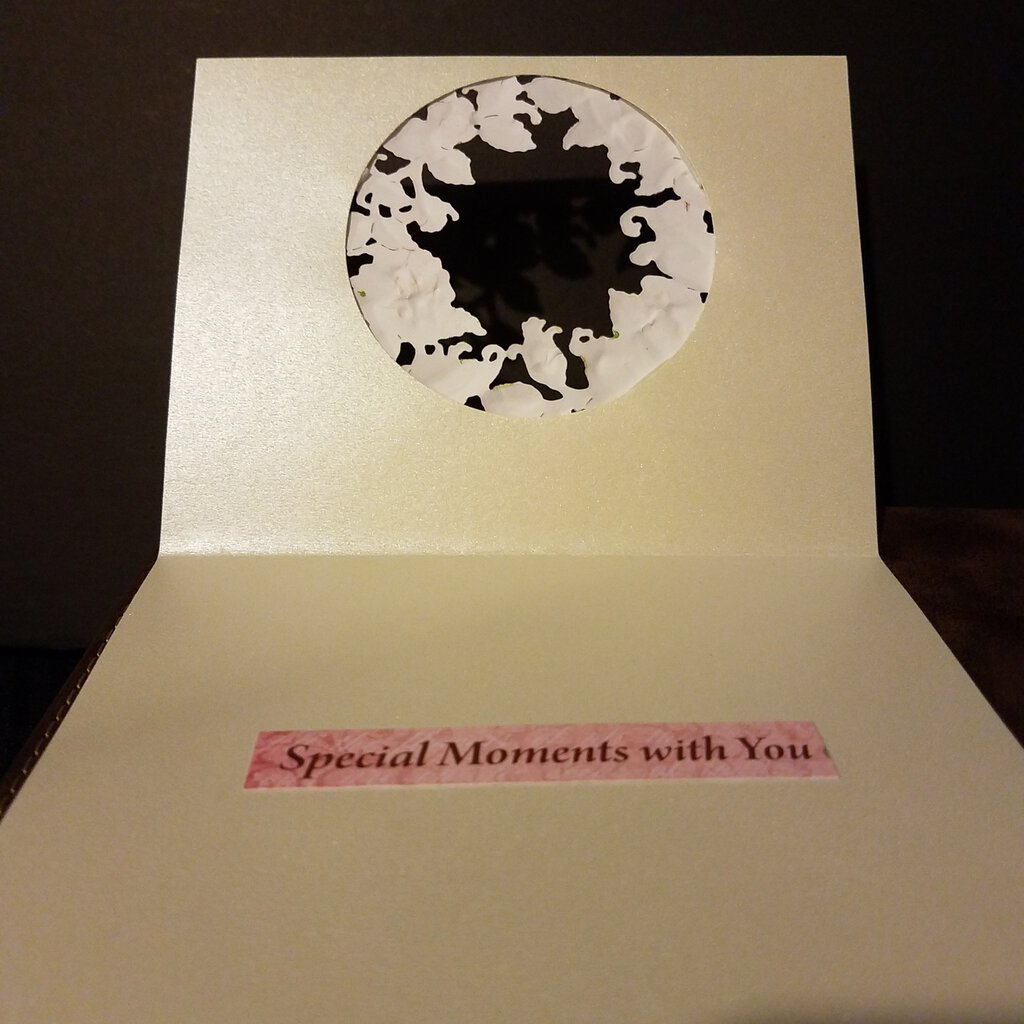 Memories Are Forever --Special Moments with You Inside with Envelope