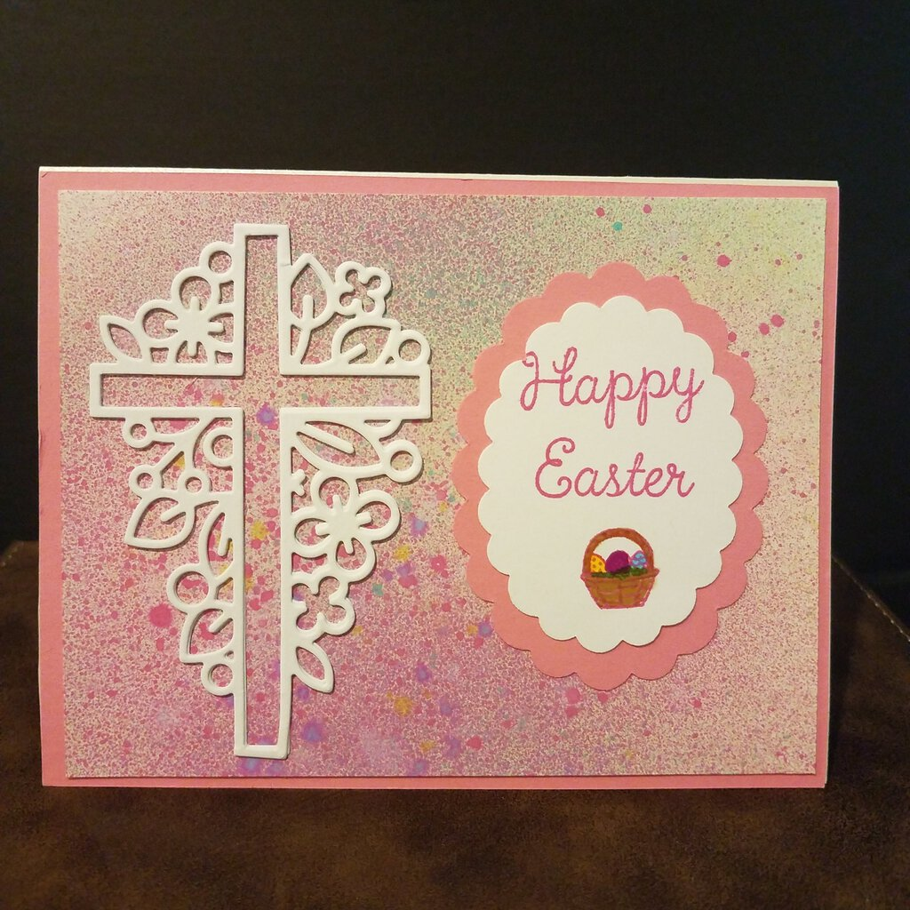 Happy Easter Blank Inside Card with Envelope