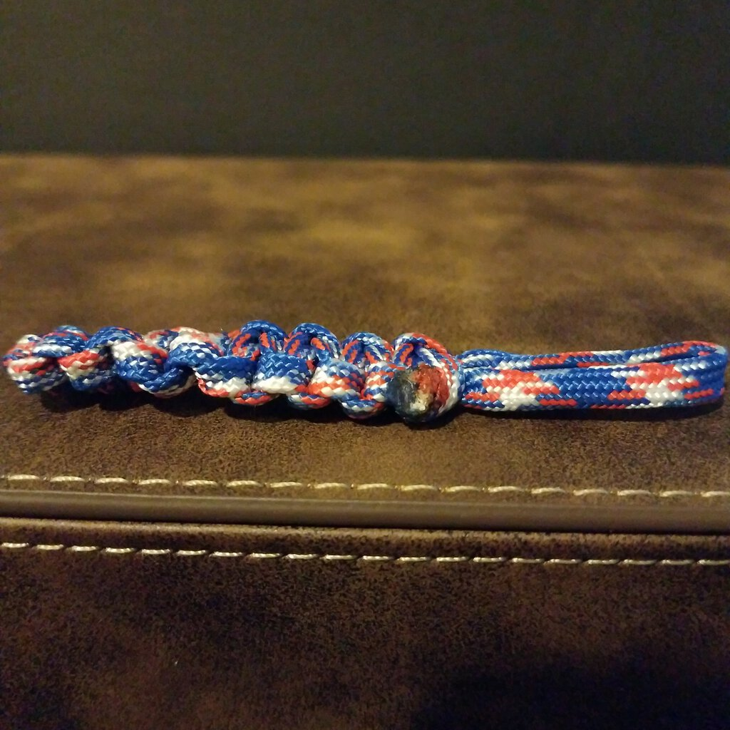 Para-cord Stem without Clip.Great for Key Chain Decor