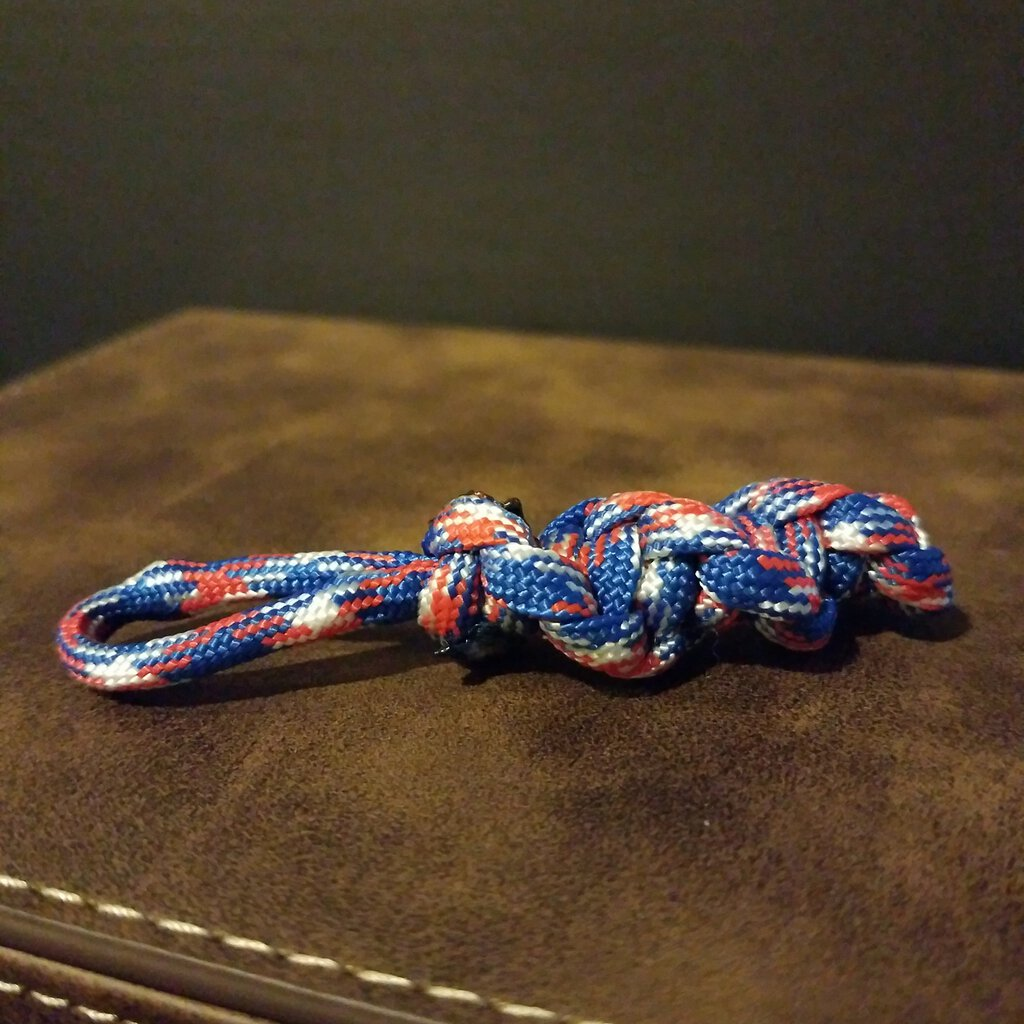 Mini Para-cord Stem without Clip.Great for Key Chain Decor